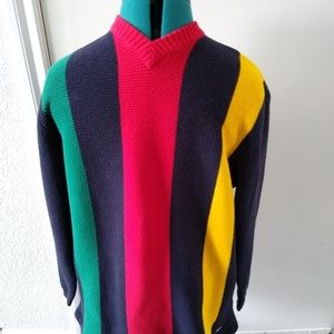 Vintage Tommy Hilfiger Mens Multi-colored